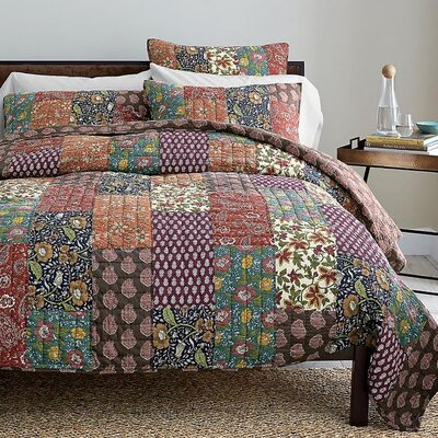Floral 3 Piece Quilt Cover Set by DaDa Bedding