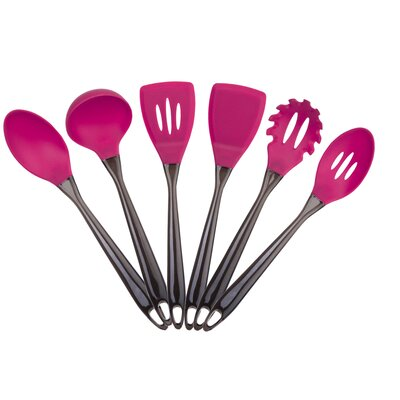 6 Piece Silicone Utensil Set by Culinary Edge