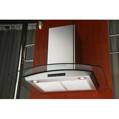 "Kitchen Bath 30"" 700 CFM Wall Mount Range Hood Product Photo"