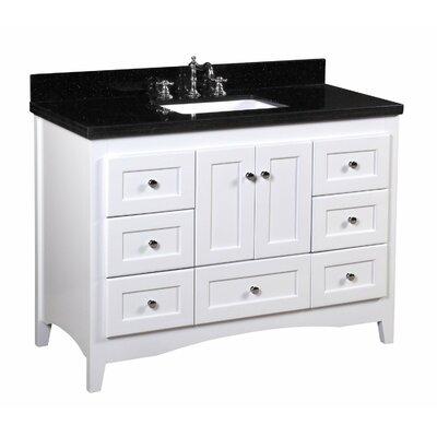 "Abbey 48"" Single Bathroom Vanity Set Product Photo"