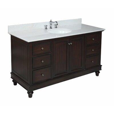 Kbc Bella 60 Quot Single Bathroom Vanity Set Amp Reviews Wayfair