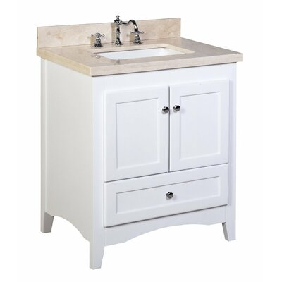 kbc abbey 30 quot single bathroom vanity set amp reviews wayfair sunny wood kitchen and bath collections