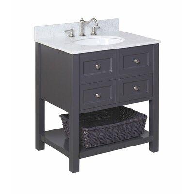 "New Yorker 30"" Single Bathroom Vanity Set Product Photo"