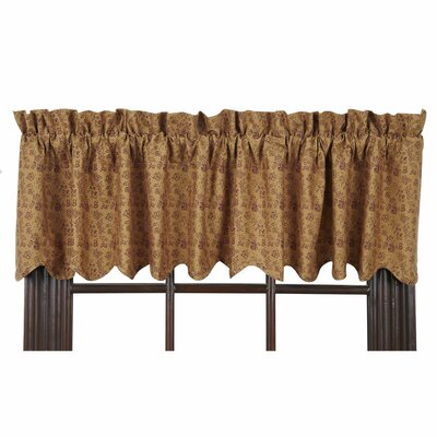 "Lewiston Scalloped Lined 72"" Curtain Valance Product Photo"
