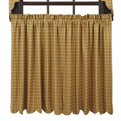 "Amherst Scalloped Lined 36"" Tier Curtain (Set of 2) Product Photo"