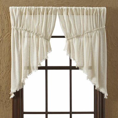 """Tobacco Prairie Swag 36"""" Curtain Valance (Set of 2) Product Photo"""