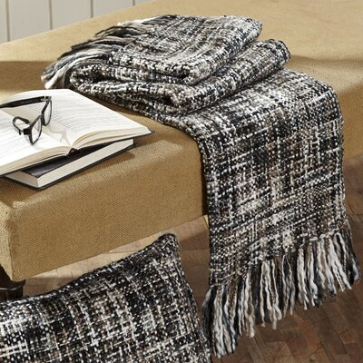 Peppermill Woven Throw by VHC Brands