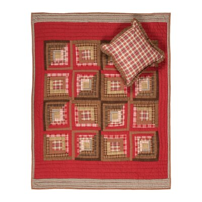 Tacoma Quilted Cotton Throw by VHC Brands
