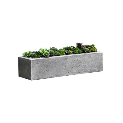 Campania international inc garden terrace rectangular for Wayfair garden box