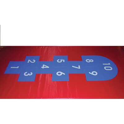 Hopscotch Fitness Mat by Benee's