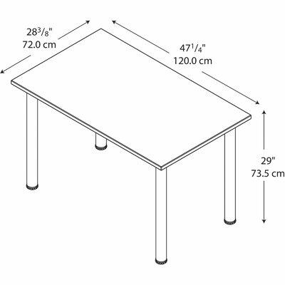 Bush Business Furniture Aspen Rectangle Training Table