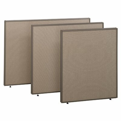 "Bush Business Furniture ProPanel Collection- 60"" W Privacy Panel"