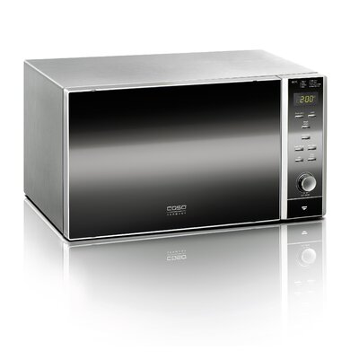 900W Countertop Microwave in Stainless Steel Product Photo
