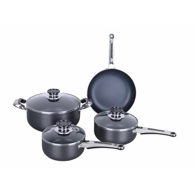 Chateau 7 Piece Non Stick Aluminum Cookware Set by ROYAL COOK
