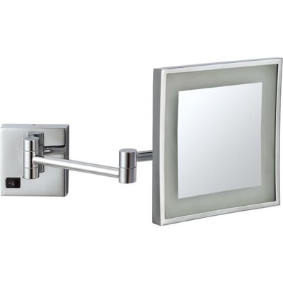 glimmer by nameeks led light wall mounted makeup mirror reviews. Black Bedroom Furniture Sets. Home Design Ideas