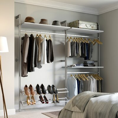 Relax 7.33 ft. Intermediate Closet Kit Product Photo