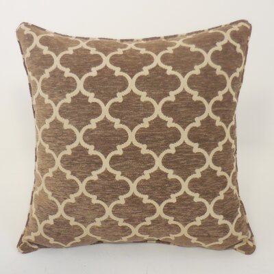 Sandglass Chenille Geometric Toss Throw Pillow by Essential