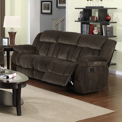 Teddy Bear Reclining Sofa by Sunset Trading