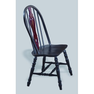 Sunset Trading Sunset Selections Keyhole Back Side Chair