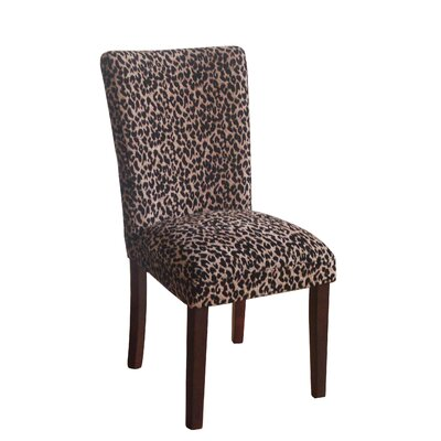 Leopard Parsons Chair by HomePop