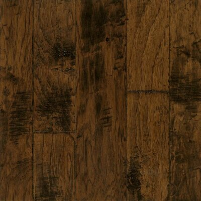 Artesian Random Width Engineered Hickory Hardwood Flooring in Harvest by Armstrong