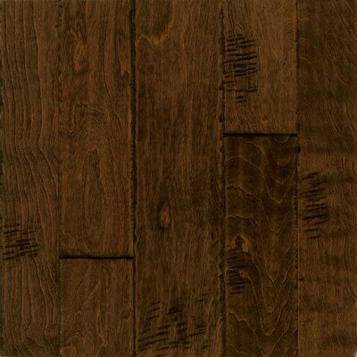 Artesian Random Width Engineered Birch Hardwood Flooring in Peanut Shell by Armstrong
