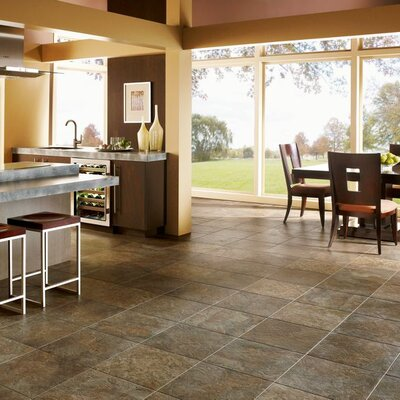 """Armstrong Alterna Reserve Moselle Valley 16"""" x 16"""" x 4.06mm Luxury Vinyl Tile in Sunrise"""