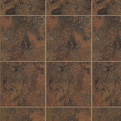 """Armstrong Stone Creek 12"""" x 48"""" x 8mm Tile Laminate in Sienna"""