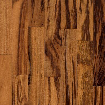 "Armstrong Valenza 3-1/2"" Solid Tigerwood Hardwood Flooring in Natural"