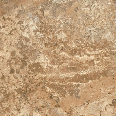 "Armstrong Alterna North Terrace 16"" x 16"" Luxury Vinyl Tile in Terra/Clay"