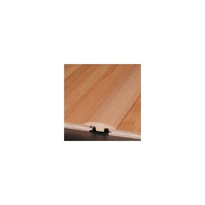 """Armstrong 0.25"""" x 2"""" x 78"""" Tigerwood T-Molding in Saddle"""