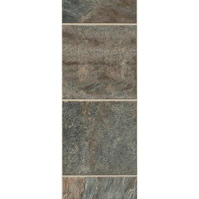"Bruce Flooring GardenStone 12"" x 48"" x  8mm Tile Laminate in Silver Sage"