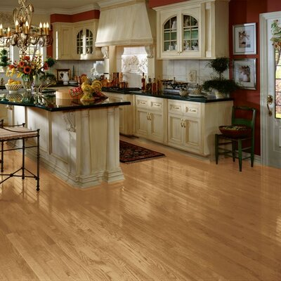 "Bruce Flooring Bristol 2-1/4"" Solid Red Oak Hardwood Flooring in Natural"