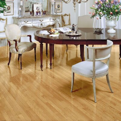 "Bruce Flooring Fulton 2-1/4"" Solid Red Oak Hardwood Flooring in Natural"