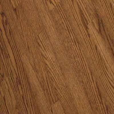 """Bruce Flooring Fulton 2-1/4"""" Solid Red / White Oak Hardwood Flooring in Gunstock"""