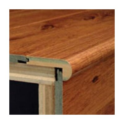 """Bruce Flooring 94"""" Walnut Stair Nose in Exotic"""