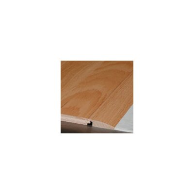 """Robbins 0.63"""" x 2.25"""" x 78"""" Sapele Overlap Reducer in Roasted Bean - Sculpted"""