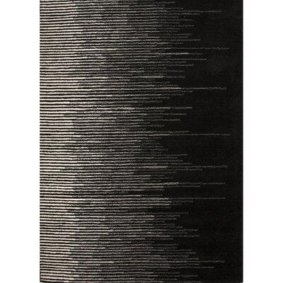 Bristol Wool Hand Tufted Black/Gray Area Rug by Jaipur Rugs