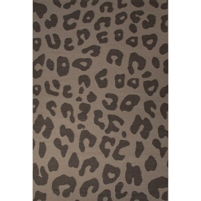 National Geographic Home Wool Flat Weave Leopard Cobblestone Area Rug by Jaipur Rugs