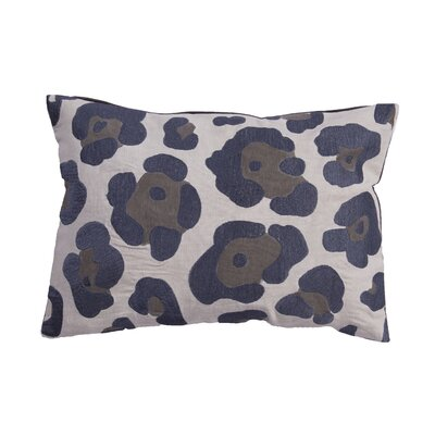 National Geographic Animal Print Cotton Lumbar Pillow by Jaipur Rugs