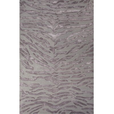 National Geographic Home Collection Tufted Wool and Viscose Gray Hand Tufted Area Rug by Jaipur ...