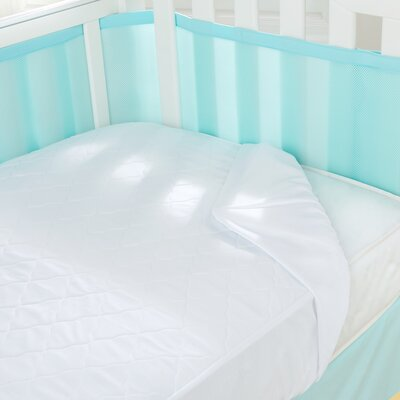 Air Mesh Waterproof Crib Mattress Pad by Breathable Baby