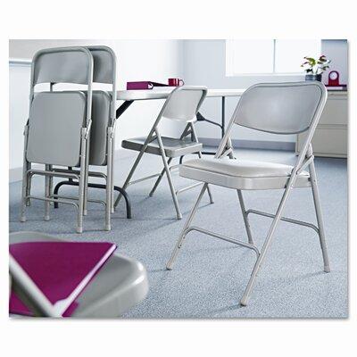 Alera® Steel Folding Chair, Tan