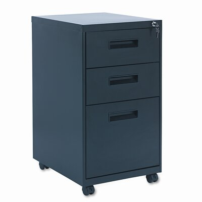 Alera® 3-Drawer Mobile Pedestal File