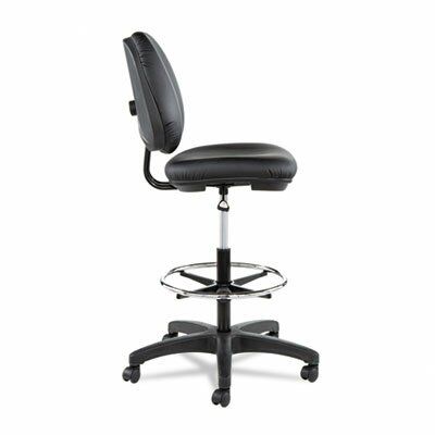Alera® Height Adjustable Interval Series Swivel Drafting Chair