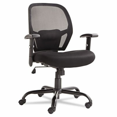 Alera® Merix450 Series Mid-Back Mesh Big and Tall Office Chair