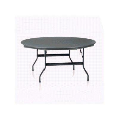 KI Furniture Duralite Round Folding Table