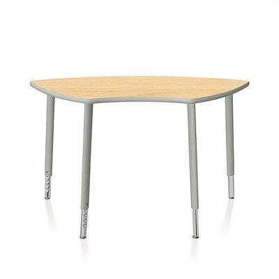 "KI Furniture Intellect Series 56"" x 24"" Trapezoidal Classroom Table"