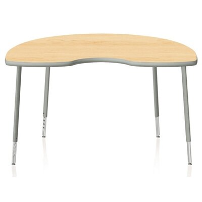 "KI Furniture Intellect Series 72"" x 48"" Kidney Classroom Table"