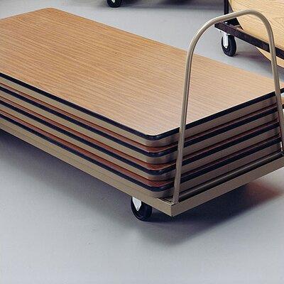 KI Furniture Vertical Storage Caddy Table Dolly